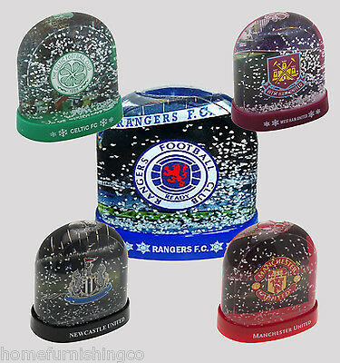 Football Club Team Stadium Snow Dome, Gift, PRESENT FC Man United City show