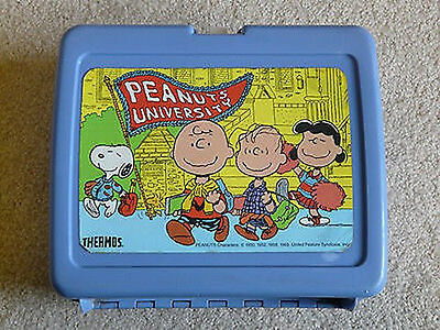 Vintage Peanuts University Lunchbox without Thermos