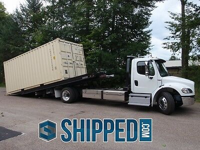 NEW 20' SHIPPING CONTAINER FOR HOME STORAGE, COMMERCIAL CARGO, CONSTRUCTION etc.