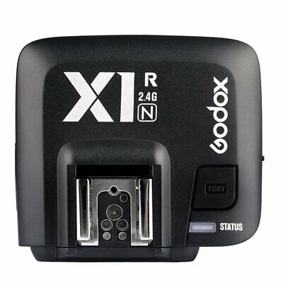 Godox X1R-N TTL 2.4G Wireless Flash Trigger Single Receiver Set For Nikon Camera