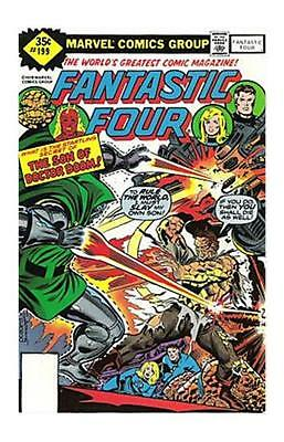 Fantastic Four Issue 199 - 1978 Variant Edition No Upc Code - Marvel Comics