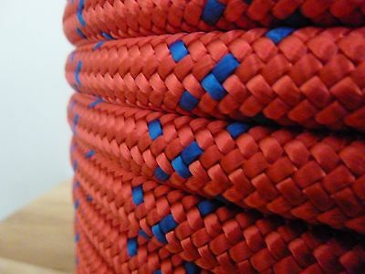 5/8 x 200 ft. Spool of Dendrolyne Double Braid Polyester Rope. Arborist/Marine