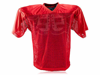 Full Force American Football einfaches Trainingsshirt - rot