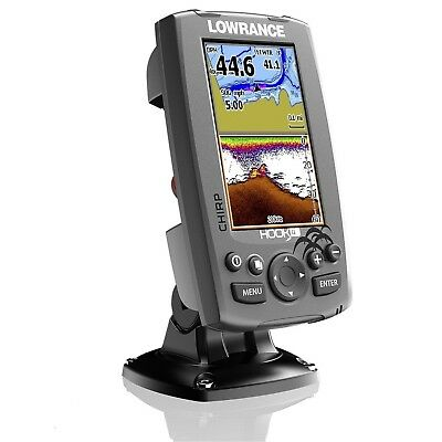 Lowrance HOOK 4 Chirp  GPS Fishfinder + 50/200/455/800 Hybrid HDI Transducer