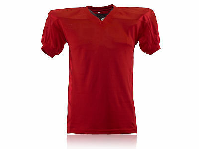 American Football Gamejersey, Rot , Gr. YL-5XL