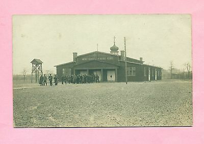 Carte Photo - Allemagne - Camp De Gardelegen - L'eglise - Saxe - Wwi -