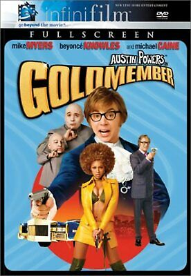 Austin Powers In Goldmember Infinifilm Full Screen Edition On DVD With Mike D68