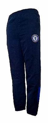 BOYS 8/9 years CHELSEA FC Woven Tracksuit Pants KIDS Football bottoms Blue NEW