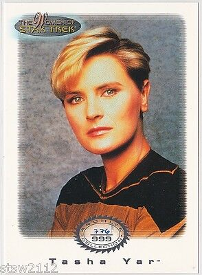 Star Trek Women Of Star Trek In Motion Archive Collection Ac13 Lt. Tasha Yar