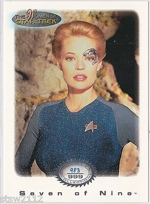 Star Trek Women Of Star Trek In Motion Archive Collection Ac14 Seven Of Nine