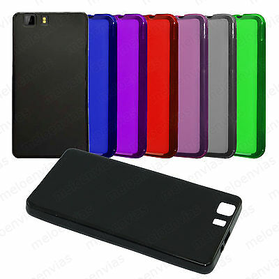 Funda DOOGEE X5 X5 PRO X5S Gel TPU LISO MATE carcasa trasera flexible Colores