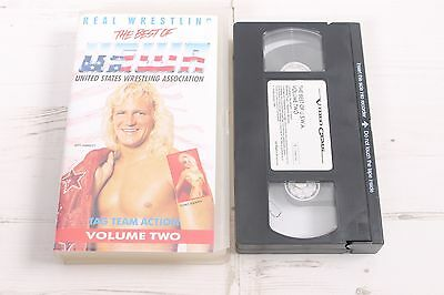 The Best of USWA Tag Tea Wrestling - Vintage VHS Video