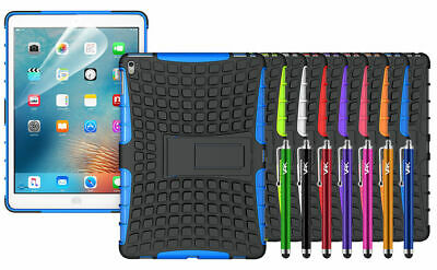 Shockproof Heavy Duty Hard Cases For Various Apple iPad + Free Screen Protector