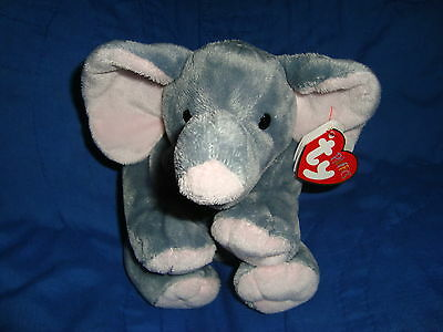 TY PLUFFIES 2013 Elephant WINKS Plastic eyes w/tags