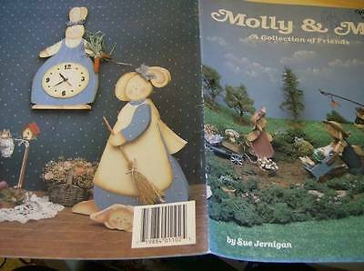 Molly & Me Collection Of Friends Painting Book By Jernigan With Animals