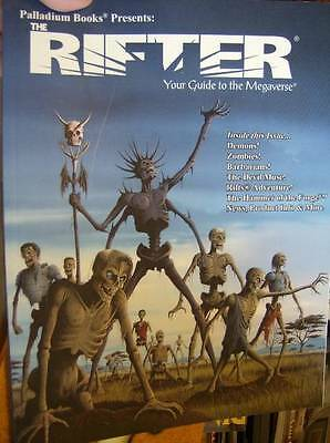 The Rifter Role Playing Book #40- Your Guide To Megaverse