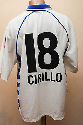 Zurich Switzerland 2000/2001 No Match Worn Football Shirt Jersey Fila 18 Cirillo