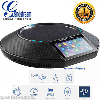 Grandstream GAC2500 Android Conference Phone 6 Line Bluetooth Color Touch Screen