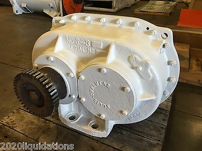 Allis Chalmers Horizontal Vibratory Screen-Shaker Motor No. 3-3, 3-E 0147  #4853