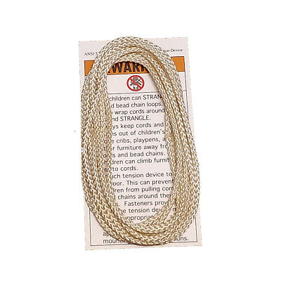 SHADE CORD, CONTINUOUS Loop Ivory 4' (48