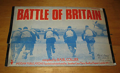 Battle of Britain Compiled by Basil Collier Jackdaw no 65  FREE SHIPPING