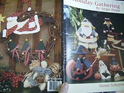 Holiday Gathering Painting Book Halloween, Noah's Ark, Christmas