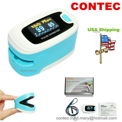 Finger Tip Pulse Oximeter Blood Oxygen SpO2 PR Monitor Meter FDA CE US Seller