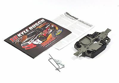 TRAXXAS 1/16 VXL Kyle Busch Plastic Chassis battery trays vents tools + manual