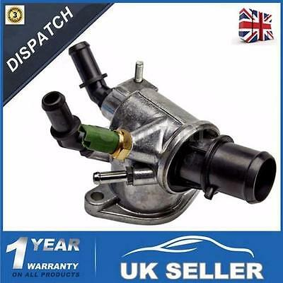 THERMOSTAT WITH HOUSING For VAUXHALL Vectra C  FIAT OPEL SAAB 1.9 55203388