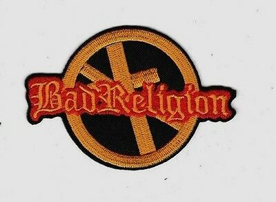 BAD RELIGION ROCK PUNK MUSIC Cloth Embroidered Patch Iron Sew Logo Emblem Custom