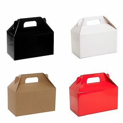 2x Large Gable Cardboard Box Packing Birthday Wedding Bridesmaid Gift Favour