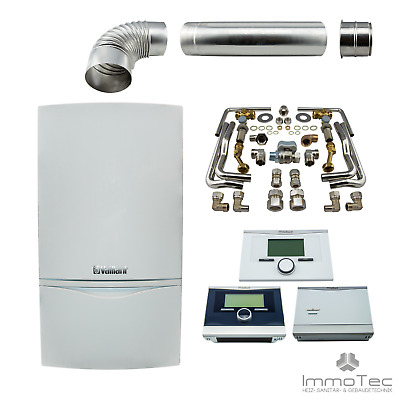 Vaillant atmoTECplus Kombitherme VCW 194 oder VCW 244 4-5 Heizung PAKET 20 24 kW