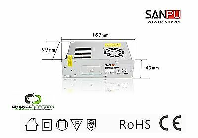 (Qty 2) Power Supply - LED Switch Mode:250W, 12VDC, IP20 Indoor - CLEARANCE SALE