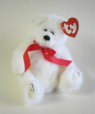 TY Attic Treasure AMORE the TEDDY BEAR 20cm FEW SMALL BROWN MARKS ON TAG.....
