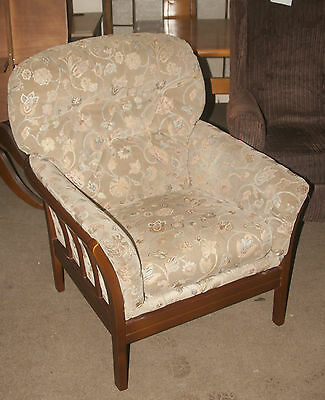 Vintage  Cintique Armchair Padded Arms. Antique REDUCED FROM TO CLEAR