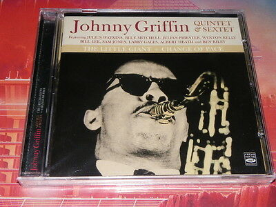 cd neuf johnny griffin quintet & sextet the little giant + change of pace