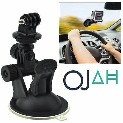 Suction Cup Car Mount Holder For GoPro Hero 4 3+ 3 2 1 Action Camera Go Pro