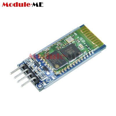 TTL HC-06 4 Pin Wireless Bluetooth RF Transceiver Module RS232 with Backplane ME