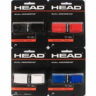 Head Dual Absorbing Replacement Grip - Choice Of Colours - Free P&P