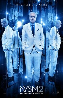 NOW YOU SEE ME 2 MOVIE POSTER 2 Sided ORIGINAL 27x40 MICHAEL CAINE