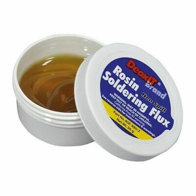 Non-flammable Solder Flux Paste - 56g Tub residue must be highly insulating