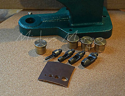 Leather Cutting Tool Hole Punch Die Mold for Hand Press Machine Setter