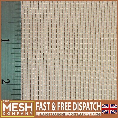 #16 Copper 99.99% COARSE - RFI Screen Mesh-Bargain Listing-Natural Copper