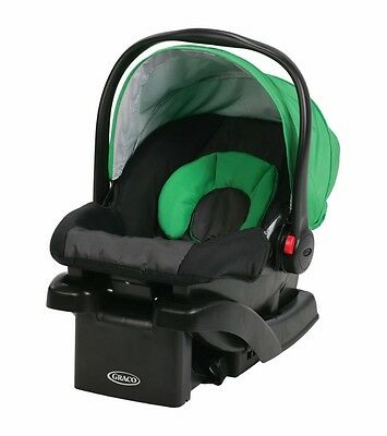 Graco SnugRide Click Connect 30 infant Car Seat, With Base / Fern (1927003)
