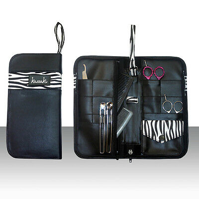 Hairdressing Sturdy Scissors Case Gift Pouch Zeb Storage Safekeeping
