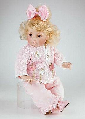 "Marie Osmond 2007 ""Flutterby Baby"" 11-Inch Toddler Porcelain/cloth Doll"
