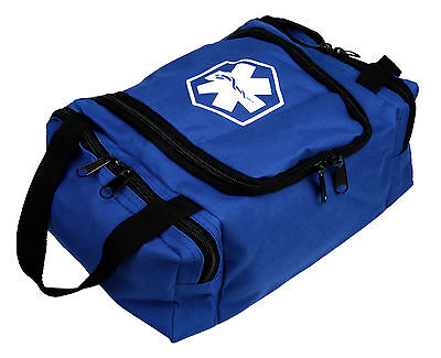 "Dixie Ems First Responder Emt Jump Trauma Bag - Blue 10.5""x 5"" X 8"""
