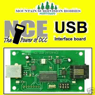 NCE 223 USB Computer Interface Power Cab & JMRI DCC 524-223    MODELRRSUPPLY-com