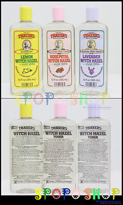 THAYERS AlcoholFree Witch Hazel with Organic Aloe Vera Toner-Rose/Lavender/Lemon