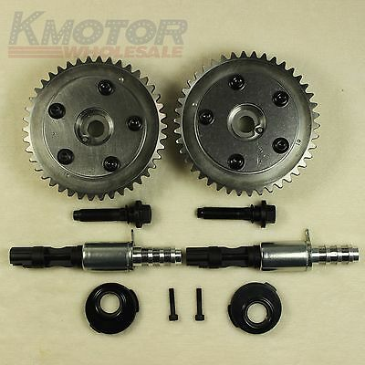 VCT Valve Seal Cam Phaser VVTi Actuator Bolts Pair For Ford 4.6L 281 5.4L 330 3V